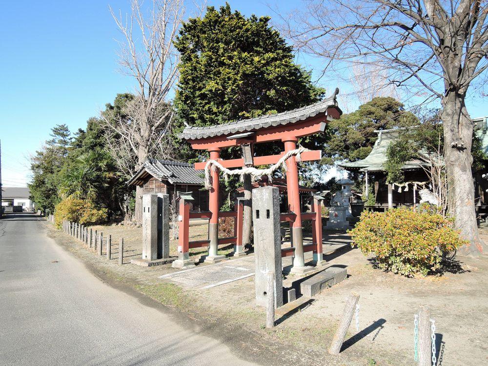 石神井神社 越谷市西新井