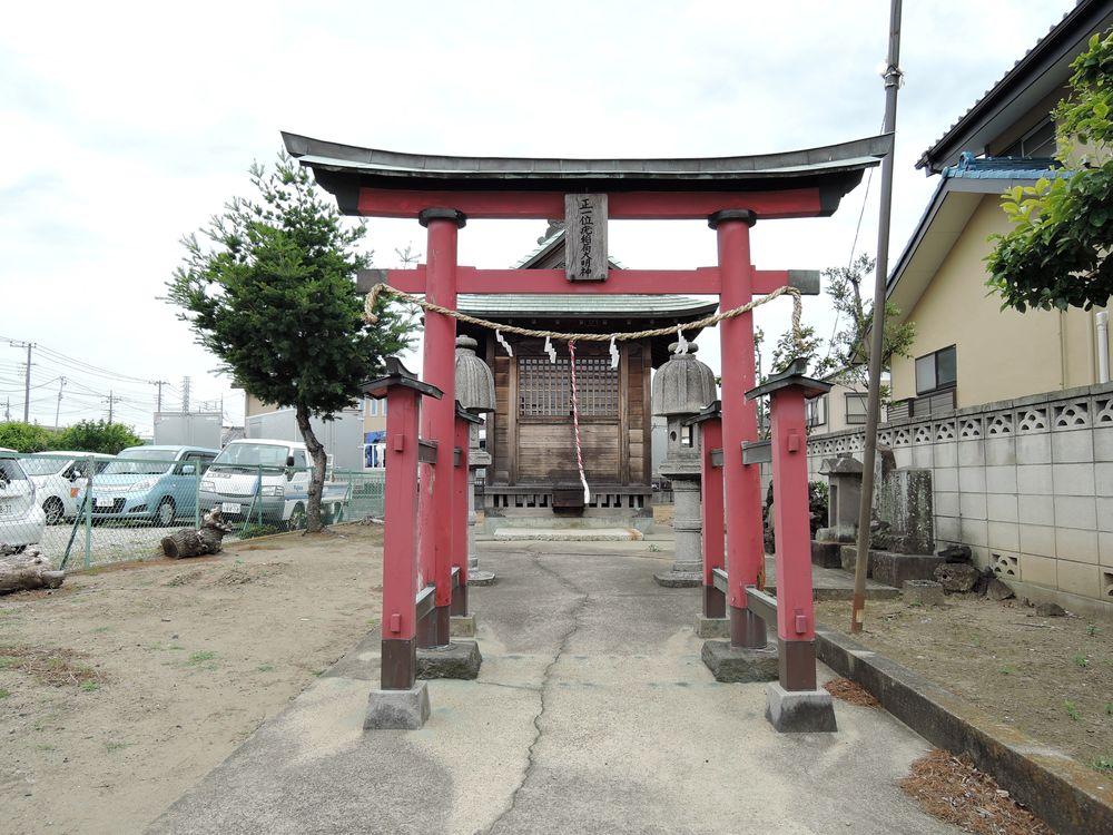 稲荷神社(疣稲荷)