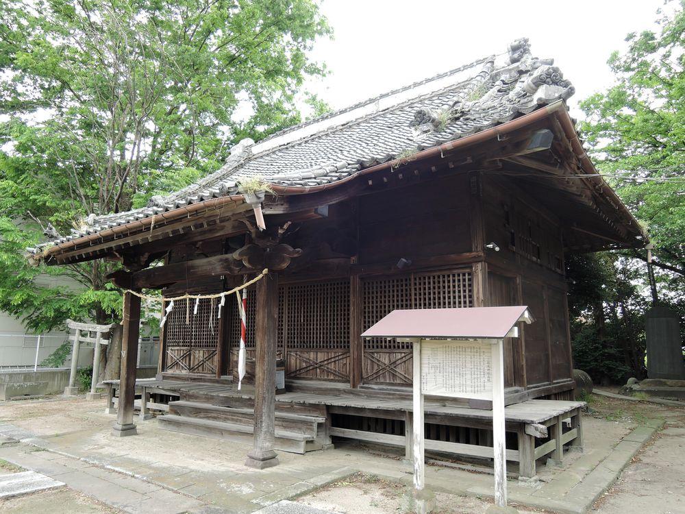 三社大神社|社殿