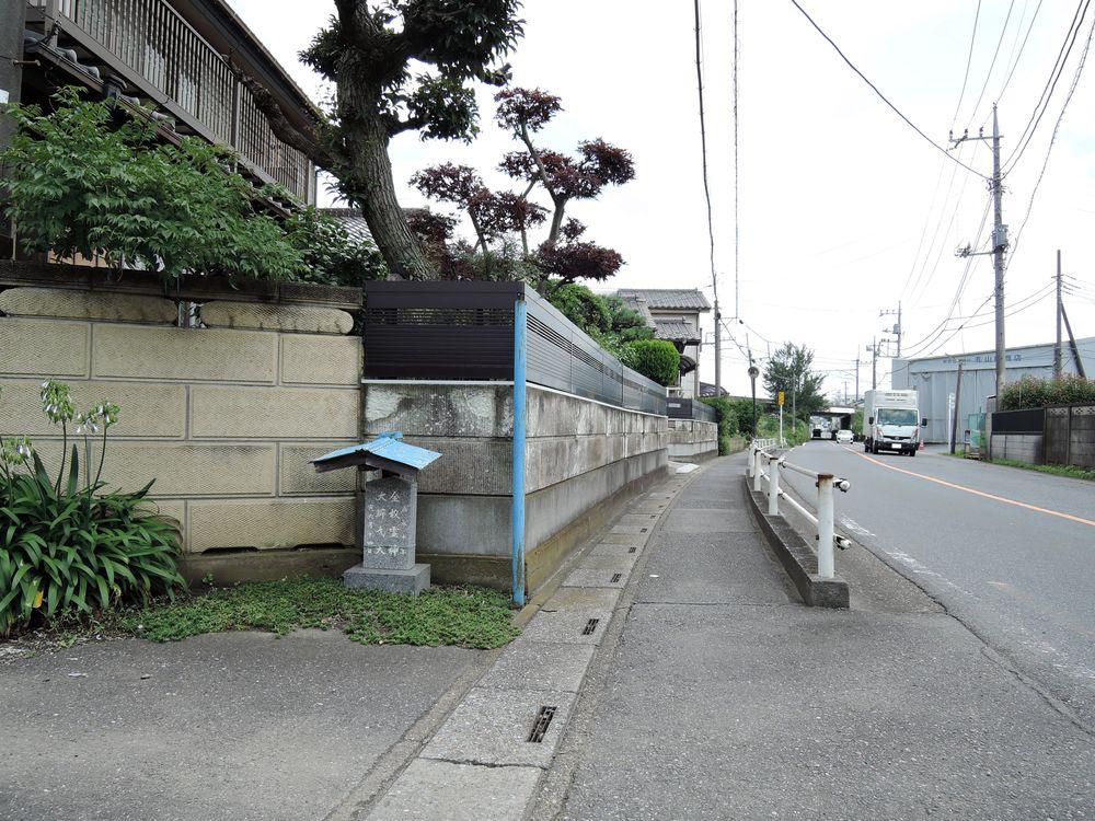 七左衛門通り(新川町一丁目付近)