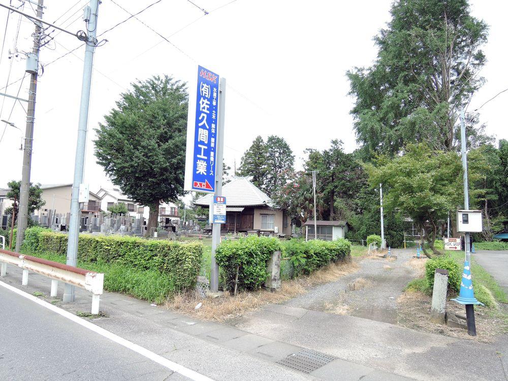 向畑観音堂(越谷市向畑)