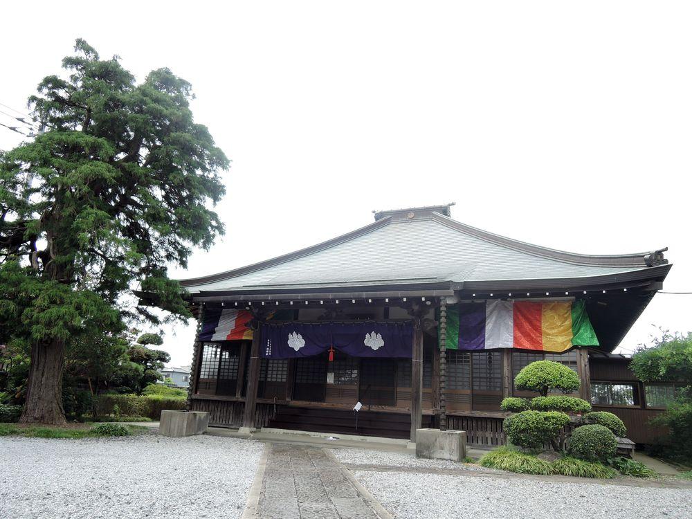 徳蔵寺の本堂