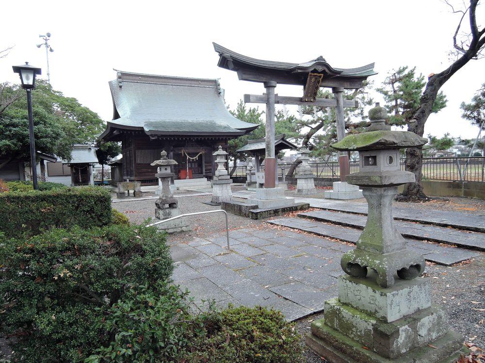 大吉香取神社の境内