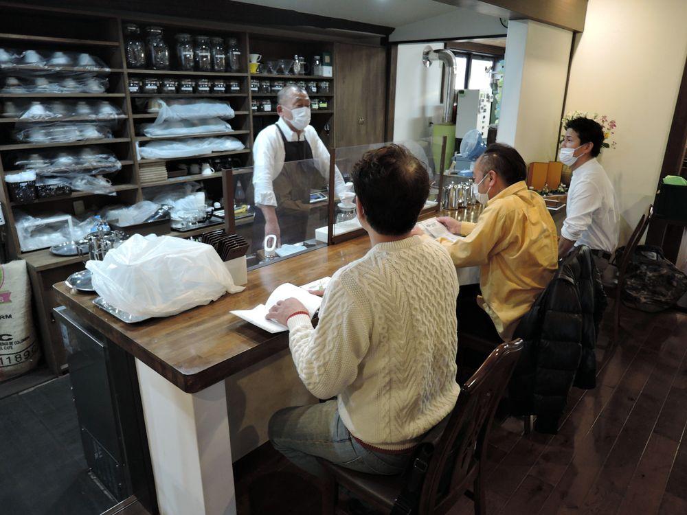 コーヒー教室 自家焙煎珈琲店・珈家(越谷市下間久里)