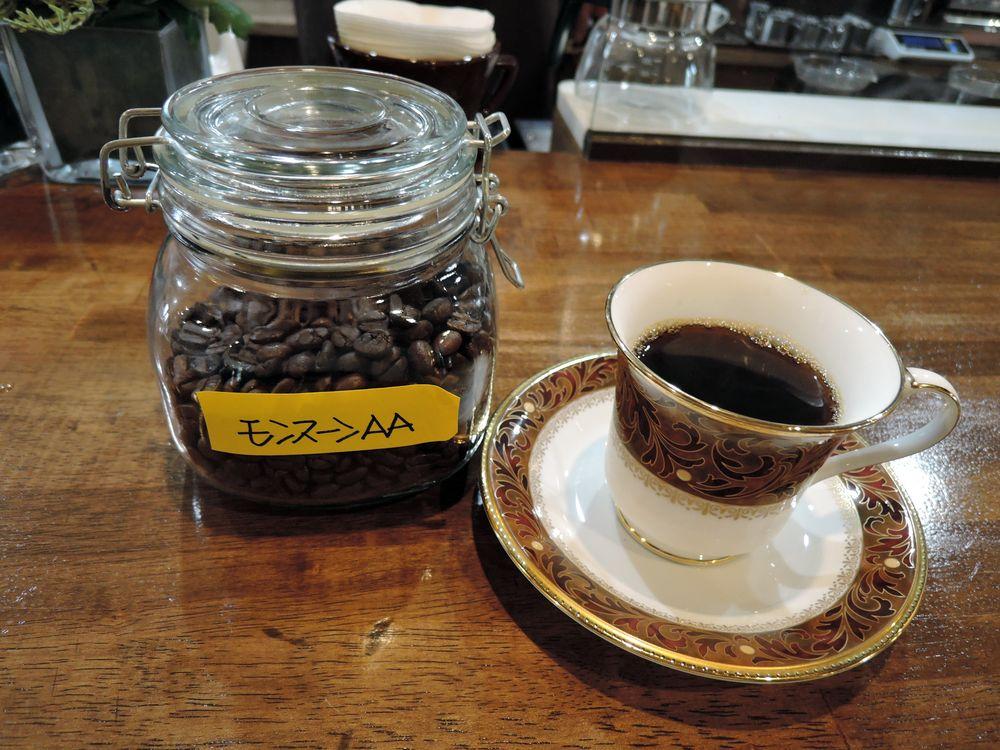 インド産コーヒー・モンスーンAA