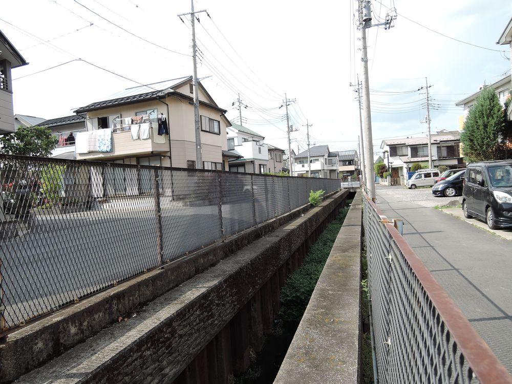 古綾瀬川沿いを歩く-4