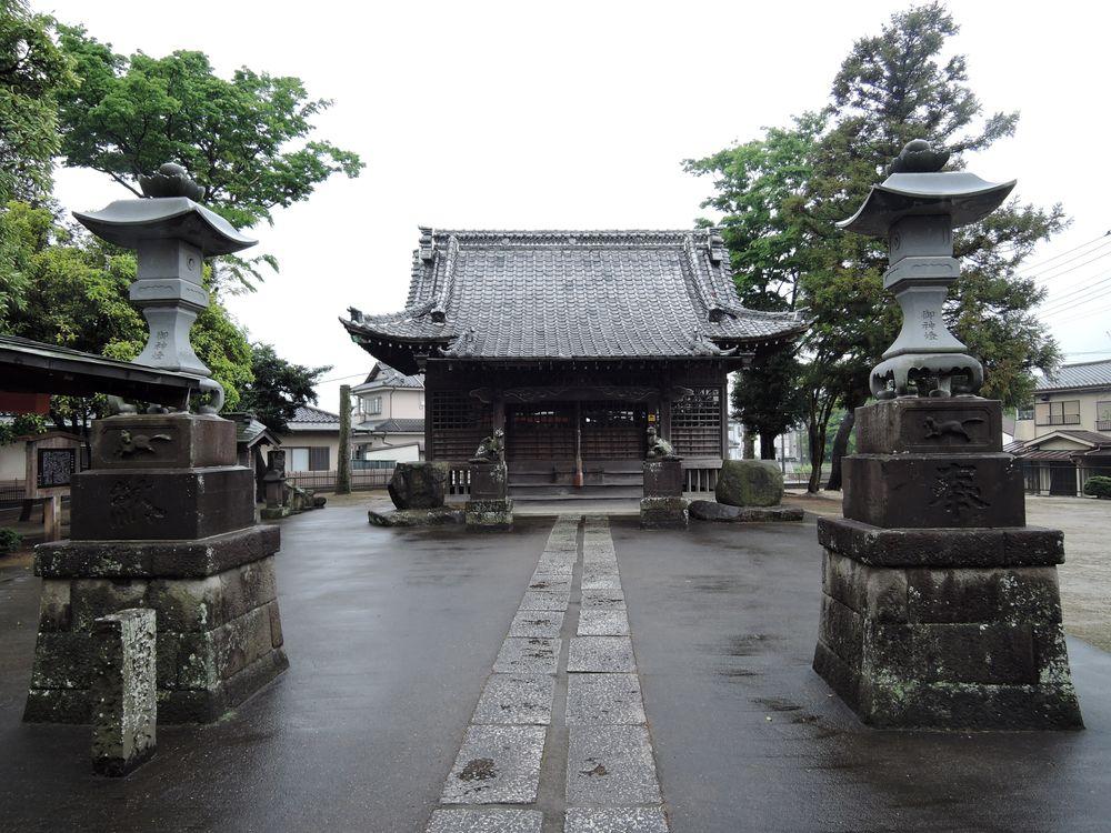 境内の風景|伊南理神社