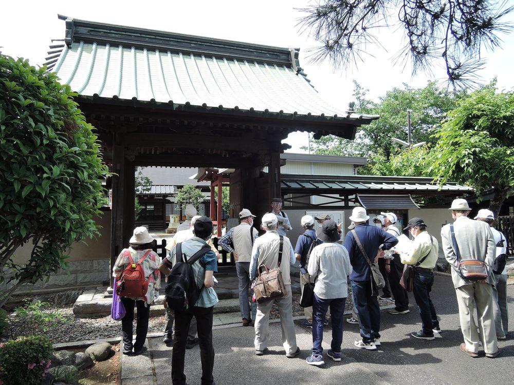 清蔵院 山門