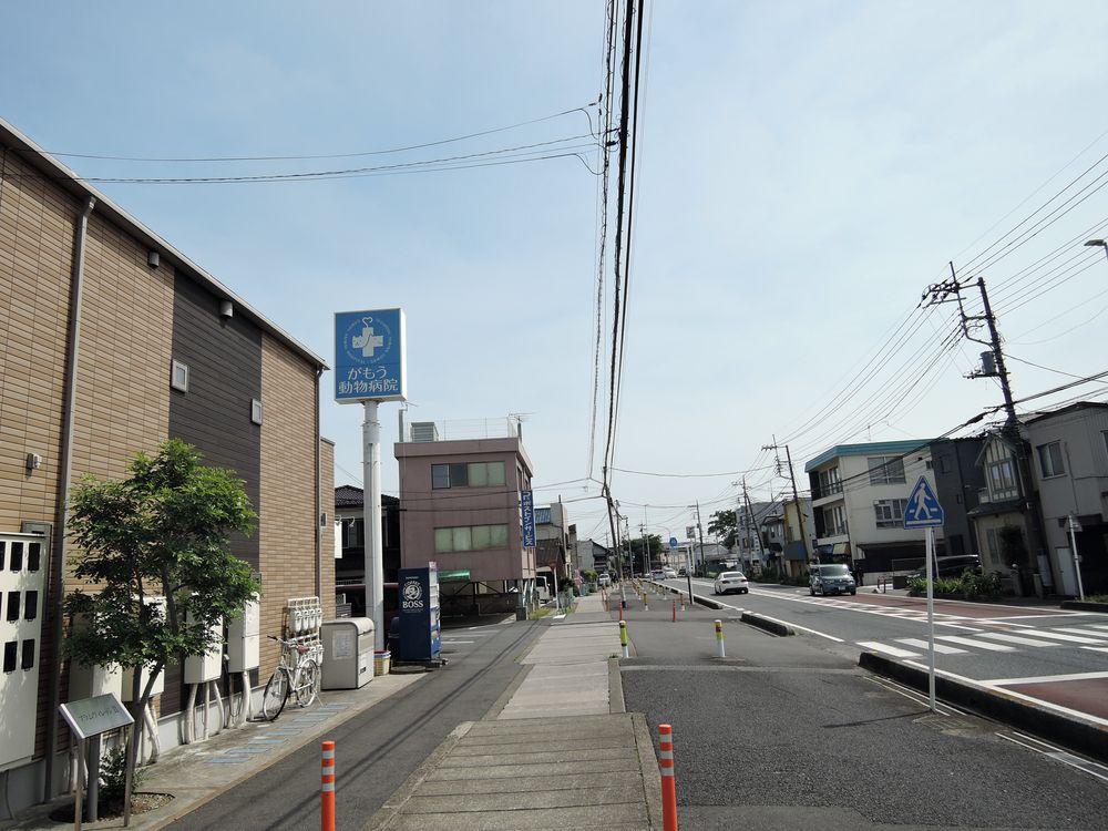 移動 旧日光街道(蒲生本町)