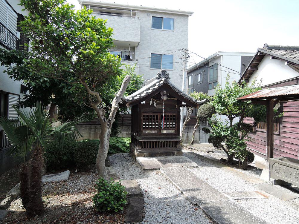 菅原天神社 社殿