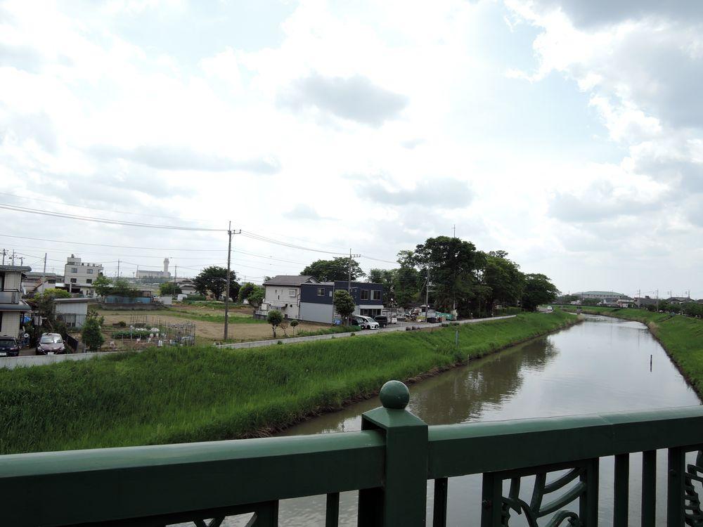 新方川|定使野橋から下流側を望む