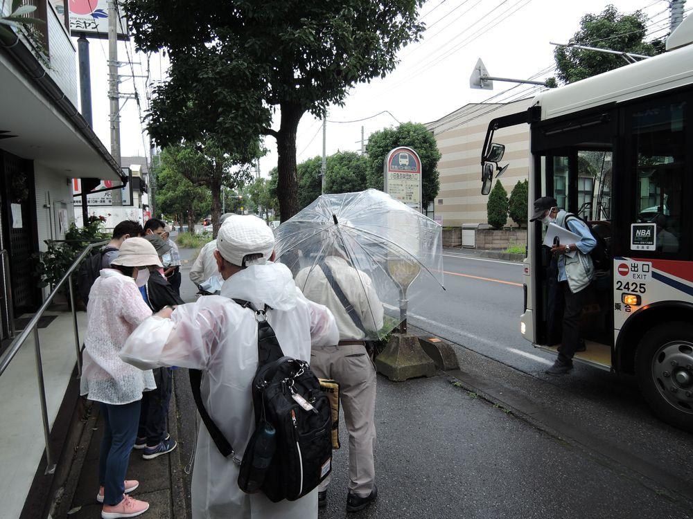 小田急弥栄団地入口バス停
