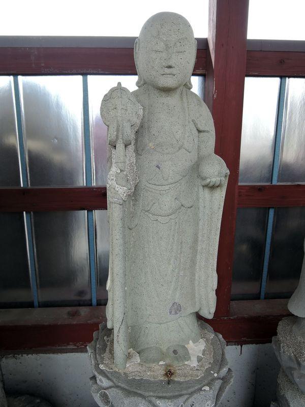 地蔵菩薩立像|清涼院墓地(越谷市増林)