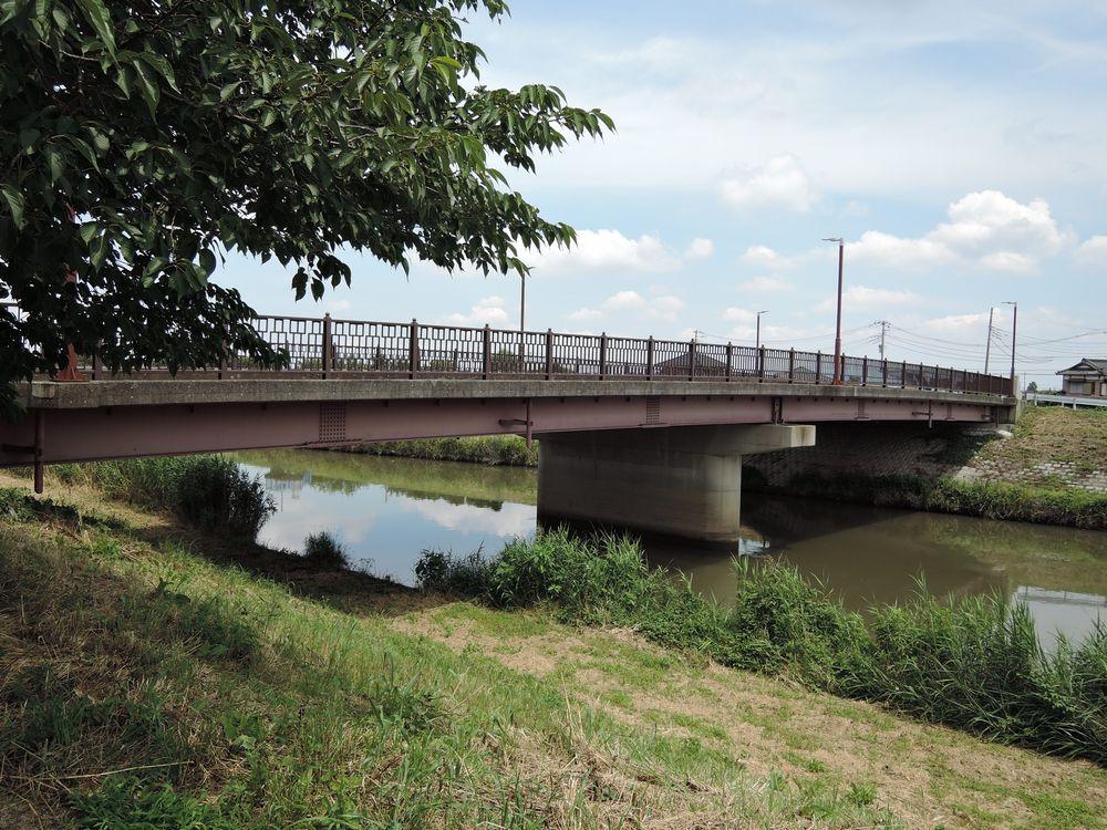 新方川に架かる橋|鷹匠橋