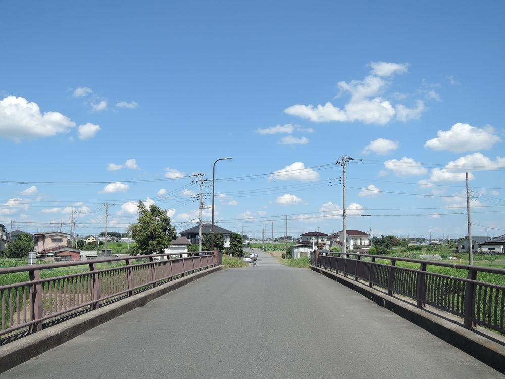 宮野橋から北東(橋林)を望む