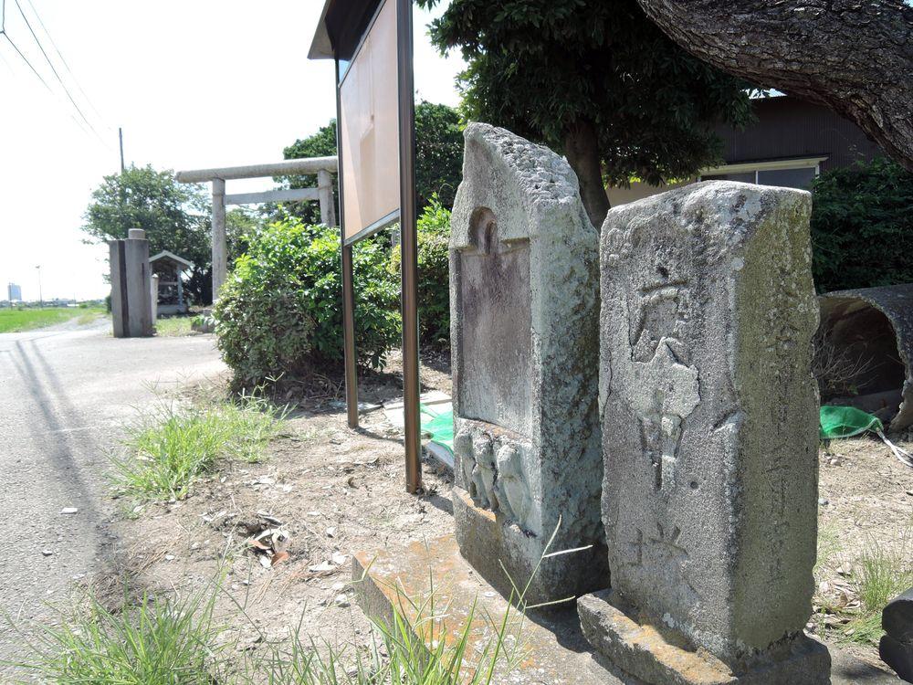 石仏|護郷神社